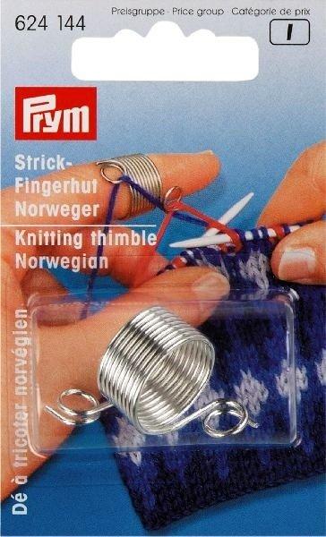 Prym NORWEGIAN KNITTING THIMBLE