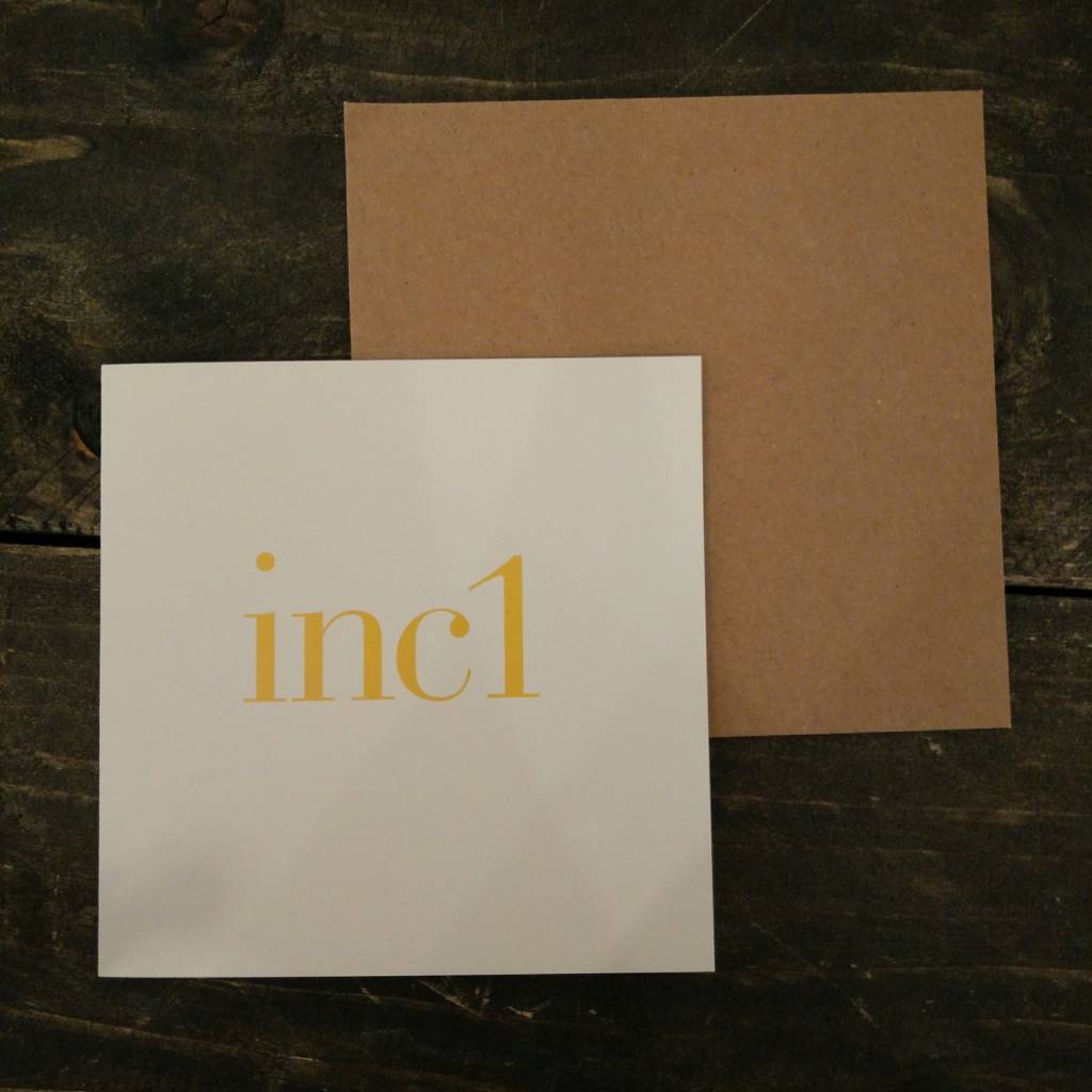 Tilly Flop INC1 YELLOW - GREETING CARD