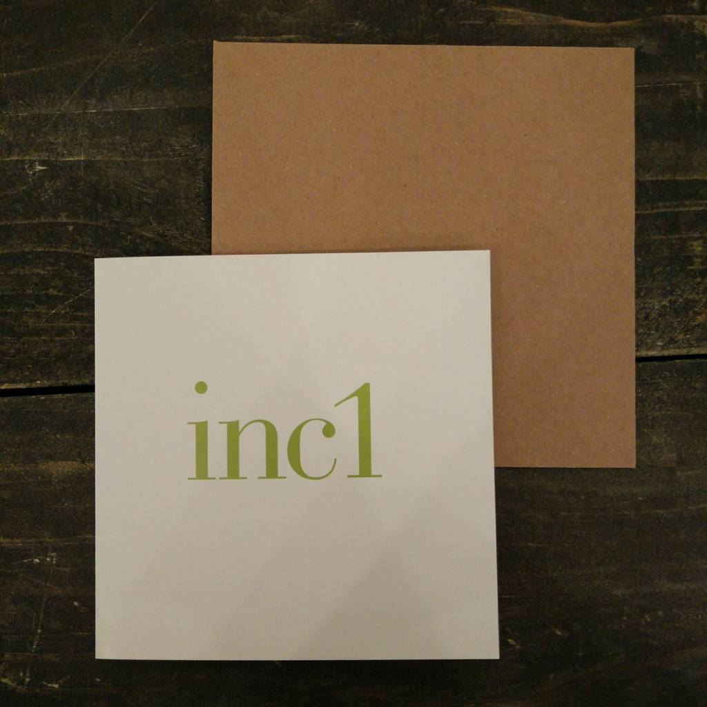 Tilly Flop INC1 GREEN - GREETING CARD