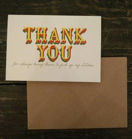 Tilly Flop THANK YOU - GREETING CARD