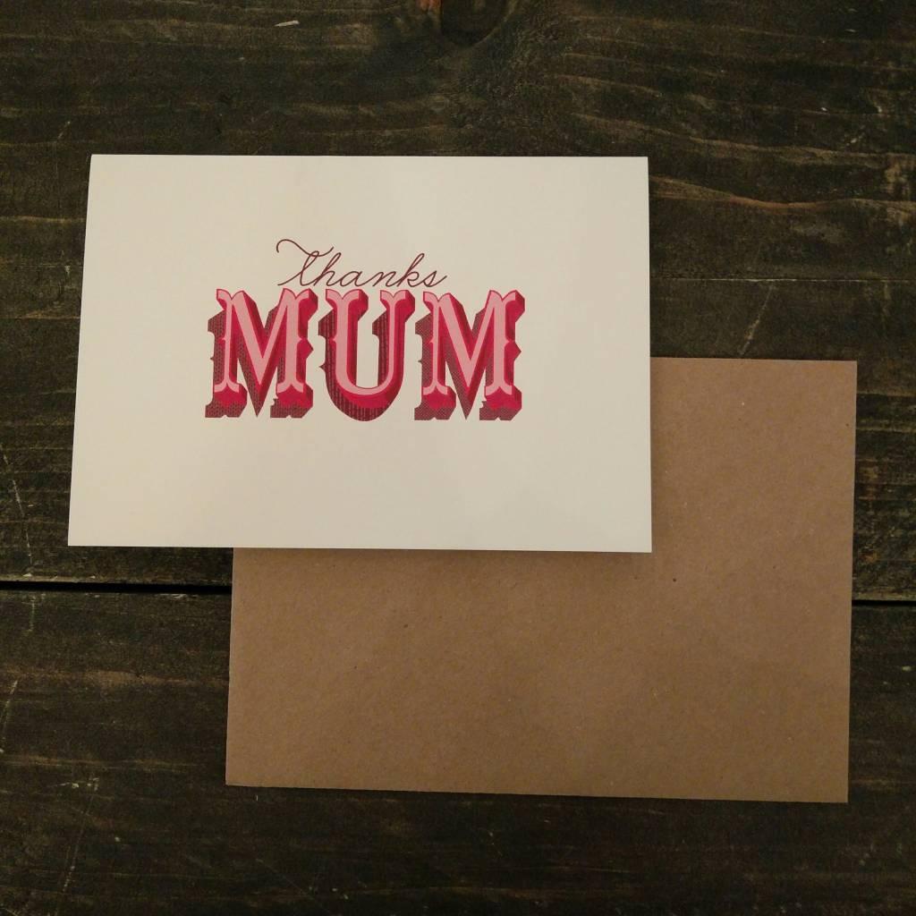 Tilly Flop MUM - GREETING CARD