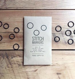 Fringe Supply Co. FRINGE - BLACK STITCH MARKERS