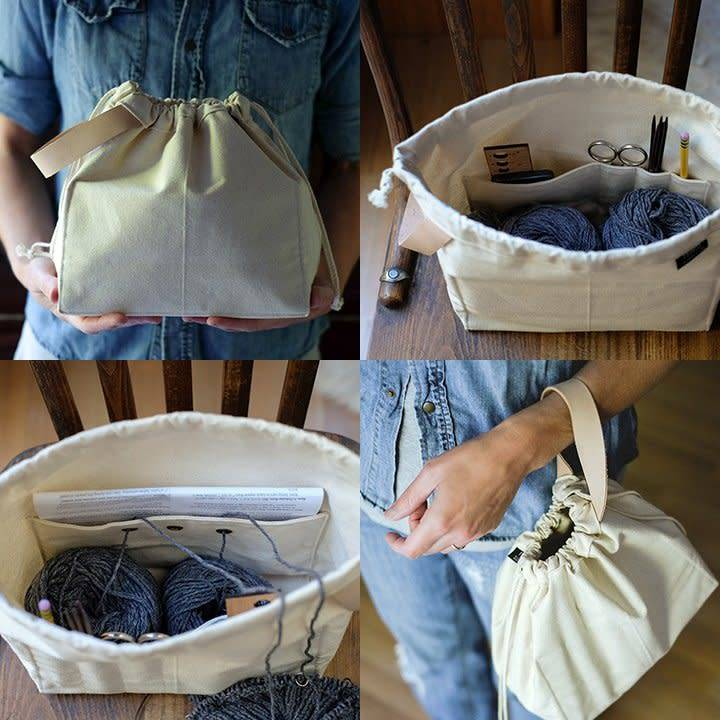 Fringe Supply Co. FIELD BAG - NATURAL
