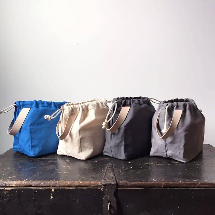 Fringe Supply Co. FIELD BAG - GREY