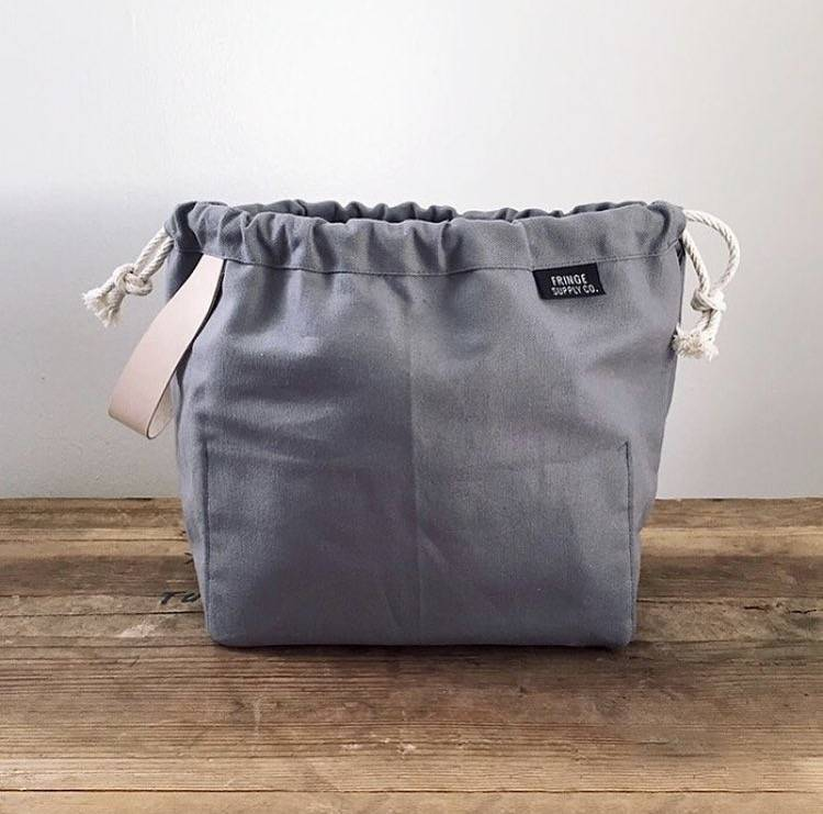 Fringe Supply Co. FIELD BAG - GREY