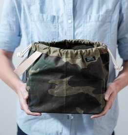 Fringe Supply Co. FIELD BAG - WAXED CAMO