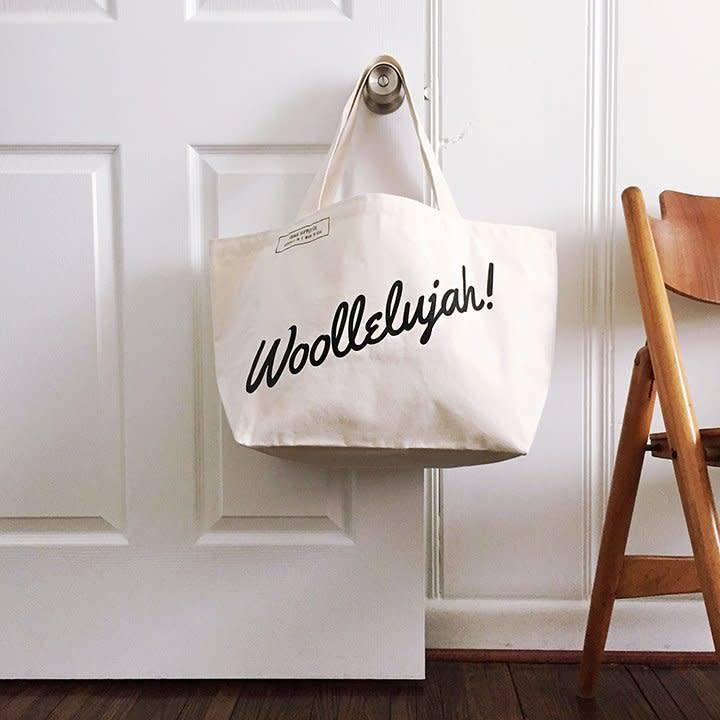 Fringe Supply Co. WOOLLELUJAH - TOTE BAG