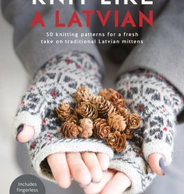 SEARCH PRESS KNIT LIKE A LATVIAN by IEVA OZOLINA