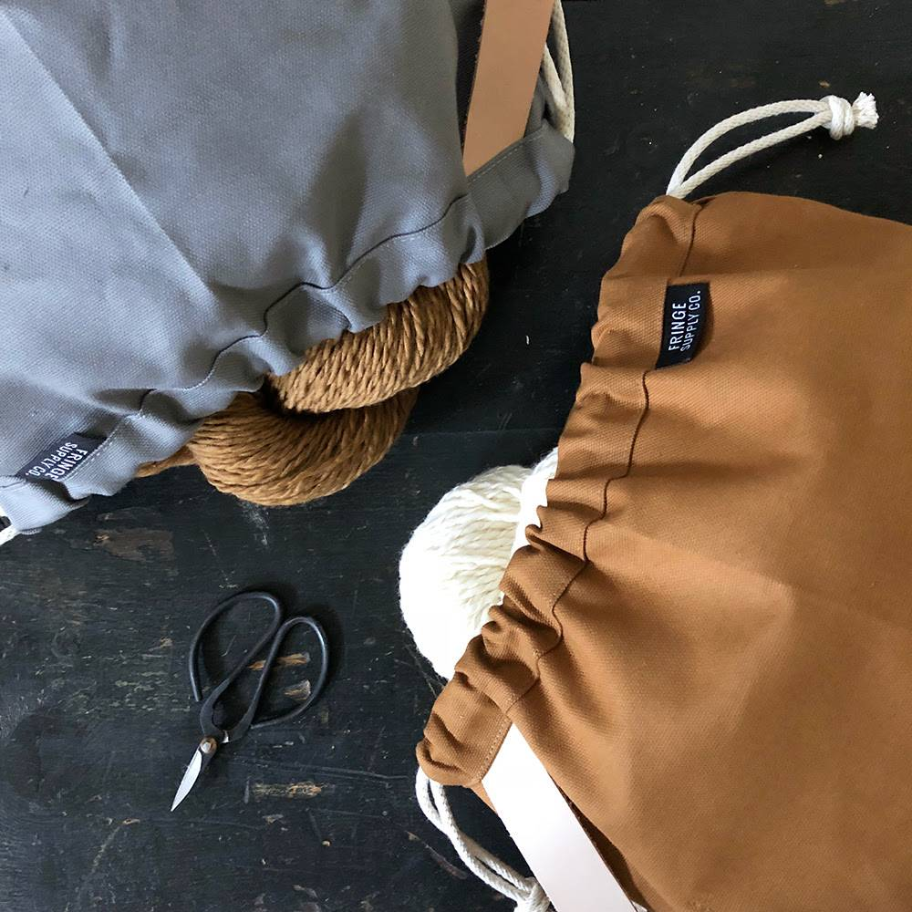 Fringe Supply Co. FIELD BAG - TOFFEE