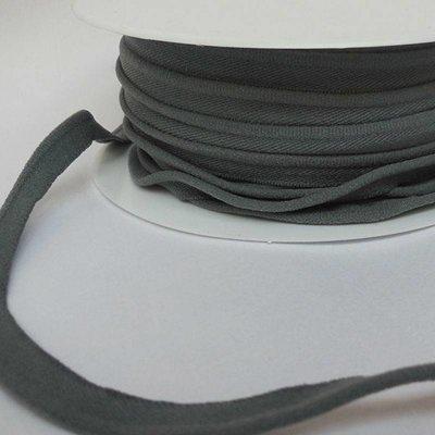 Elastische paspel - donkergrijs