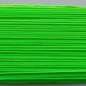 Elastische paspel - fluo groen
