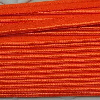 Elastische paspel - oranje