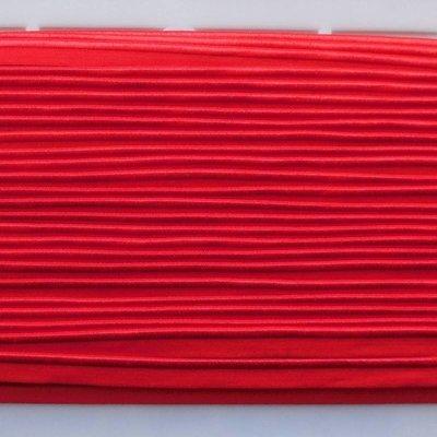Elastische paspel - rood