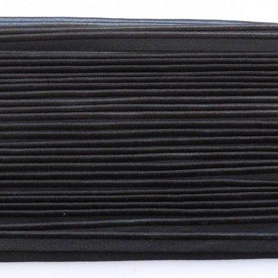 Elastische paspel - zwart