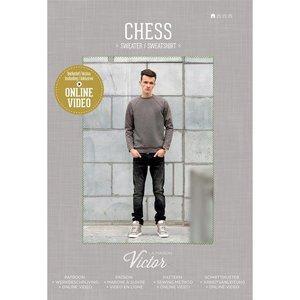 La Maison Victor Patroon - La Maison Victor - Chess Sweater