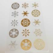 Stickers: winter