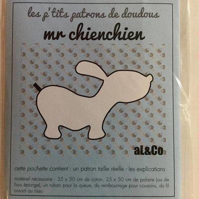 Al & co - Patroon knuffel - Hond
