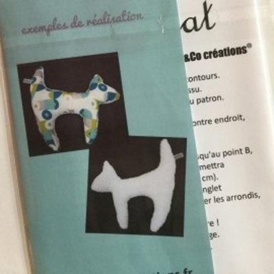 Al & co - Patroon knuffel - Kat
