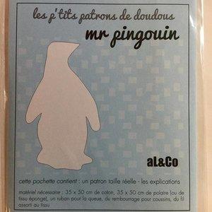 Patroon knuffel - Pinguïn