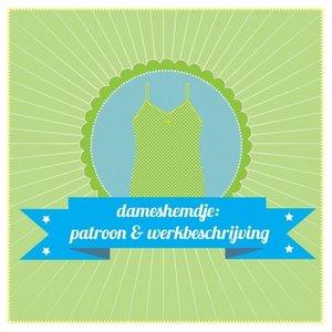 Patroon- dameshemdje (Liel)