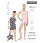 Patroon - Minikrea: Ondergoed voor jongens & meisjes (2-12 jaar)