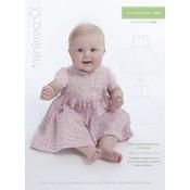 Patroon - Minikrea:  Jurkje voor baby (0-9 maanden)