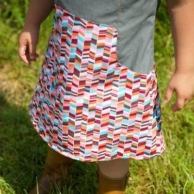 Compagnie M Patroon - Compagnie-M: Louisa jurk voor meisjes