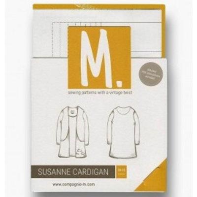 Compagnie M Patroon -  Compagnie-M: Susanne Cardigan voor meisjes