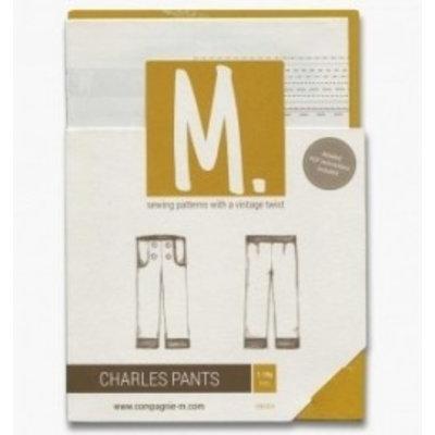 Compagnie M Patroon - Compagnie-M:  Charles pants voor meisjes en jongens