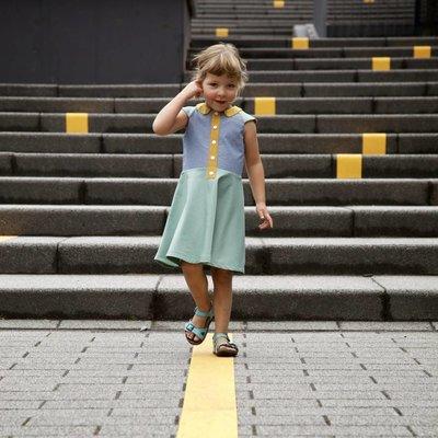 Compagnie M Patroon - Compagnie-M:  Ileana jurk voor meisjes