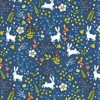 Katoen - Timeless Treasures - Magical Bunnies