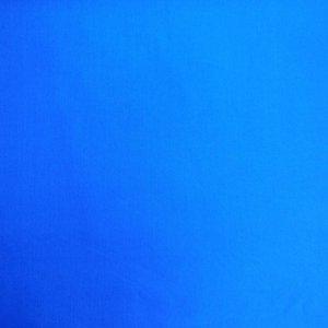 Effen katoen - blauw
