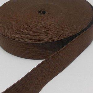 Elastische tailleband - bruin (2,00 cm)