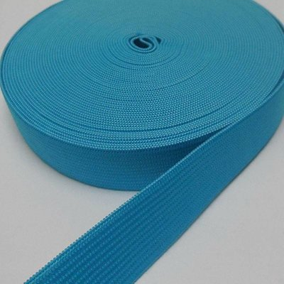 Elastische tailleband -turkoois  (2,00 cm)
