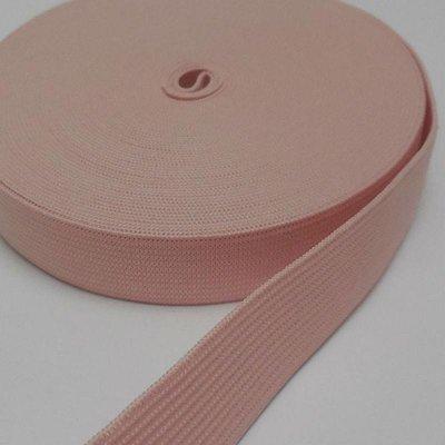 Elastische tailleband -zalmroze (2,00 cm)