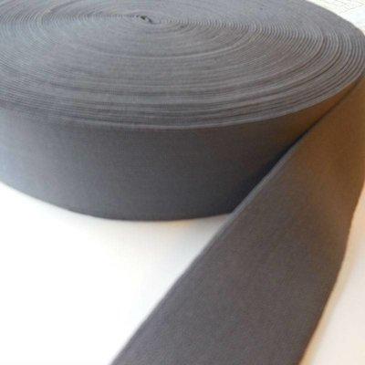 Elastische tailleband - grijs (3,80 cm)