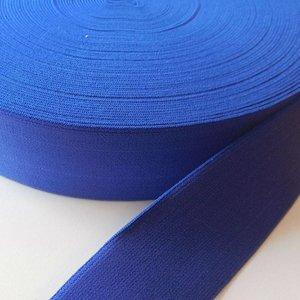 Elastische tailleband - koningsblauw (3,80 cm)