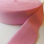 Elastische tailleband - lichroze (3,8 cm)