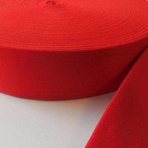 Elastische tailleband - rood (3,8 cm)