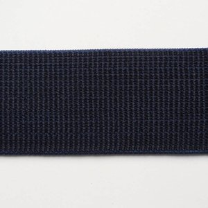 Elastische tailleband (6 cm) - donkerblauw