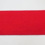 Elastische tailleband (6 cm) - rood
