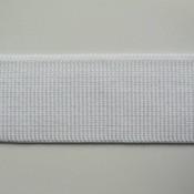 Elastische tailleband - wit (6 cm)