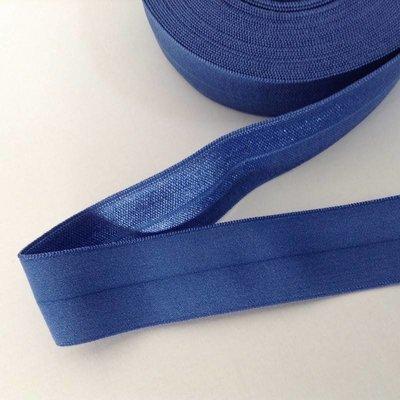 Elastisch biais - koningsblauw
