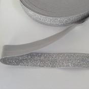 Elastisch biais - zilver
