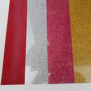 Flexfolie - Goud Glitter