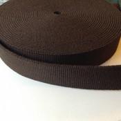 Tassenband donkerbruin 30 mm