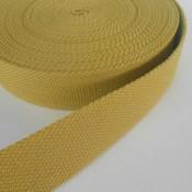 Tassenband mosterd 30 mm