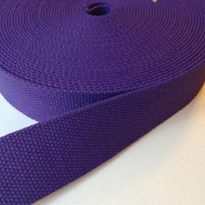 Tassenband paars 30 mm