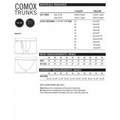 Thread Theory Comox onderbroek - patroon