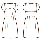 Colette Patterns - Macaron 1001 - patroon